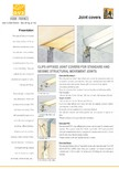 Profile de dilatatie pentru pereti, pardoseli  VEDA - Joint Covers & compression profiles