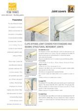 Profile de dilatatie pentru pereti, pardoseli VEDA
