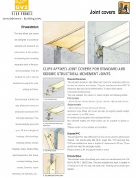 Profile de dilatatie pentru pereti, pardoseli