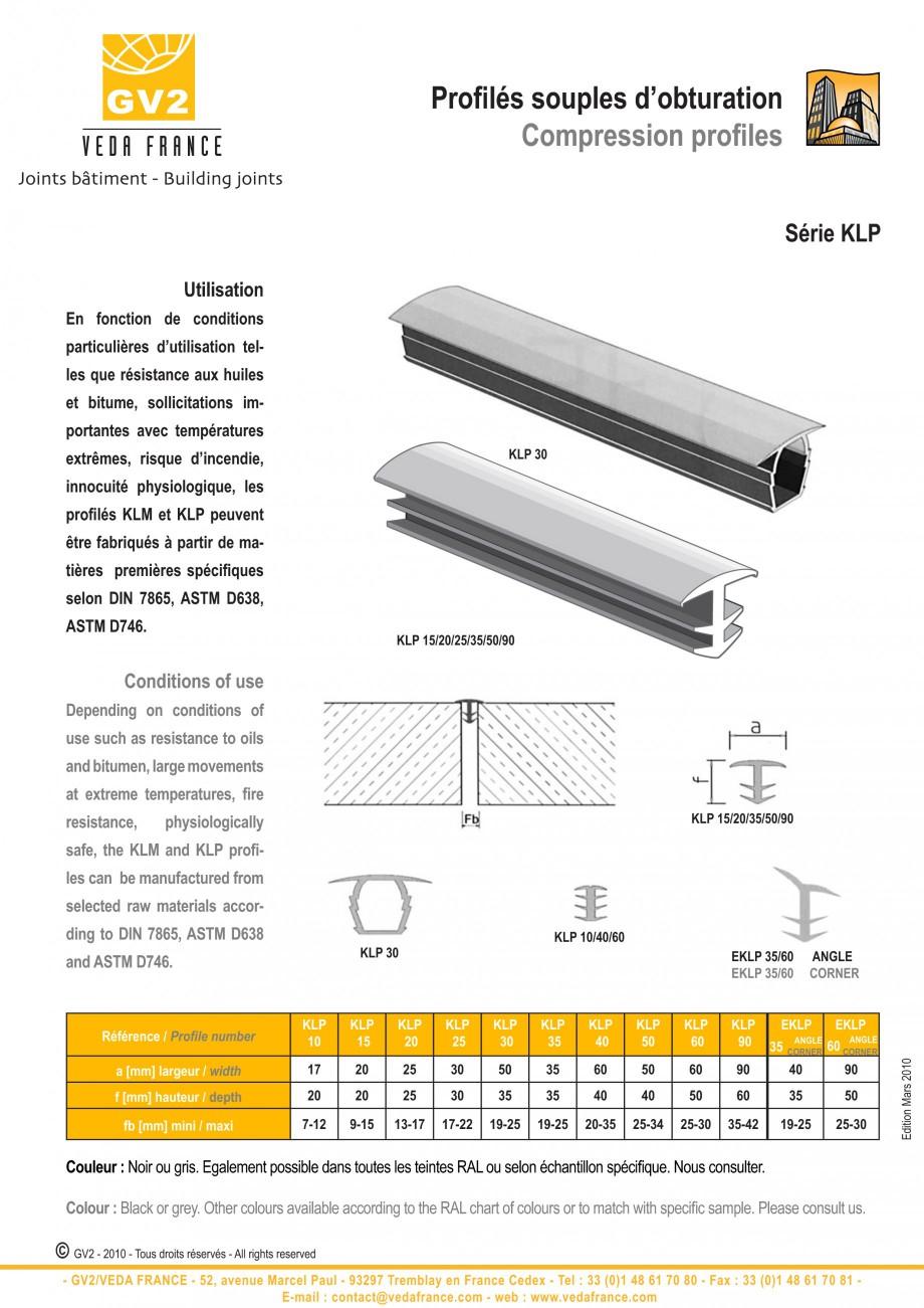Pagina 10 - Profile de dilatatie pentru pereti, pardoseli  VEDA Joint Covers & compression...
