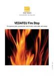 Protectie la foc pentru rosturi in pardoseli VEDA - Fire stop systems