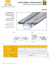 Profile de dilatatie pentru tavane si pereti