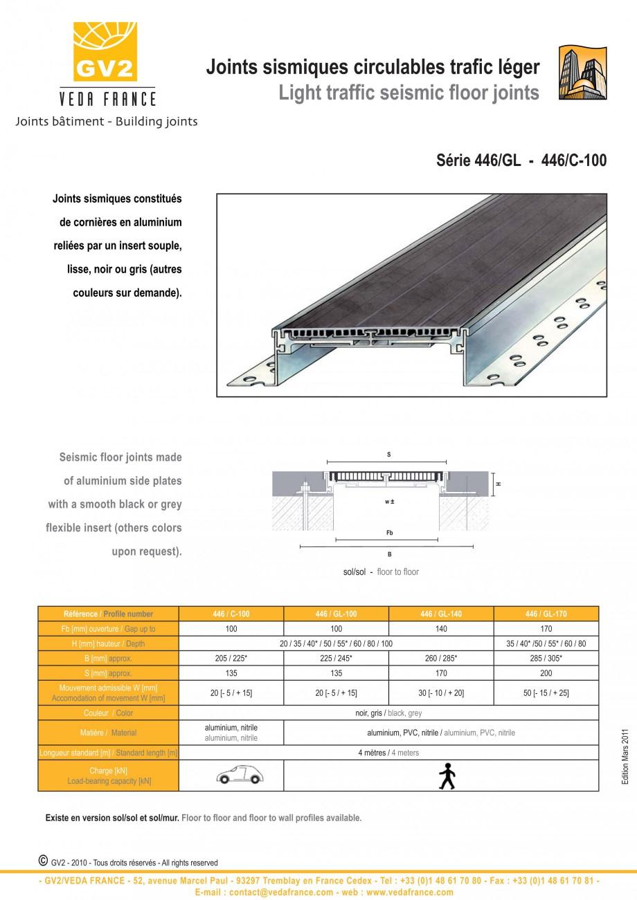 Pagina 8 - Profile de dilatatie metalice cu insertie flexibila pentru pardoseli VEDA Floor expansion...