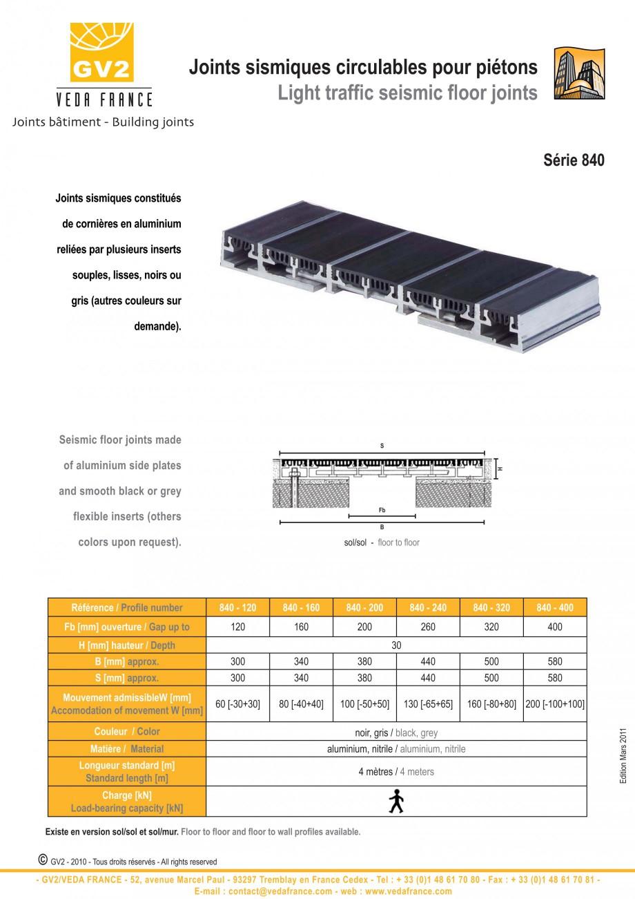 Pagina 9 - Profile de dilatatie metalice cu insertie flexibila pentru pardoseli VEDA Floor expansion...