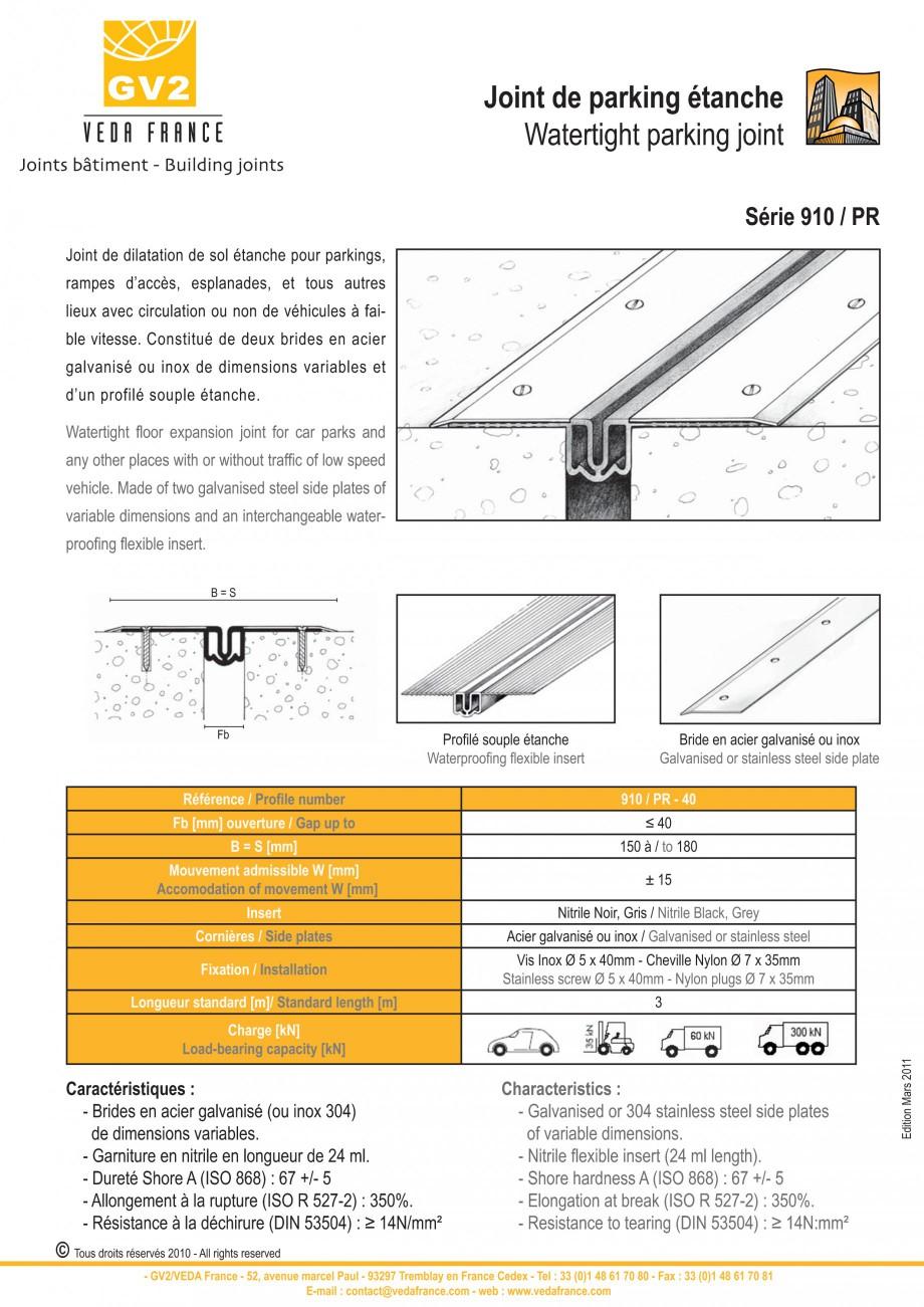 Pagina 11 - Profile de dilatatie metalice cu insertie flexibila pentru pardoseli VEDA Floor...