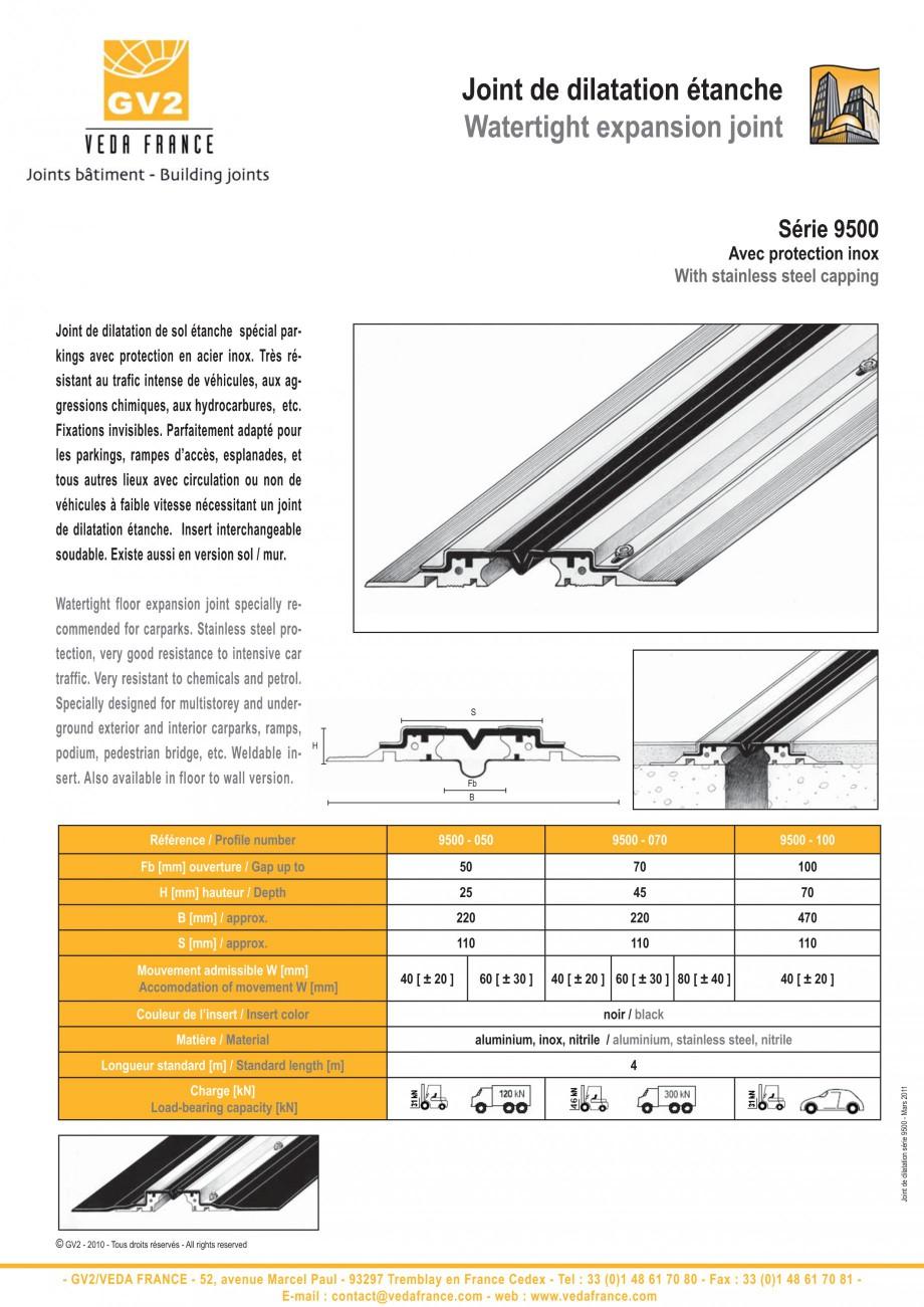 Pagina 12 - Profile de dilatatie metalice cu insertie flexibila pentru pardoseli VEDA Floor...