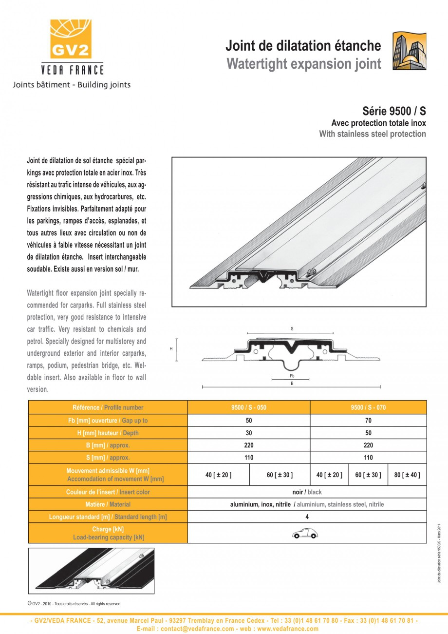 Pagina 13 - Profile de dilatatie metalice cu insertie flexibila pentru pardoseli VEDA Floor...