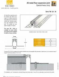 Profile de dilatatie metalice pentru pardoseli