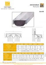 Profile de dilatatie pentru acoperis (calcane) VEDA