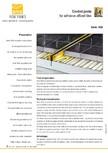 Profile de dilatatie pentru finisaje pardoseala VEDA - Control joints and tile dividers