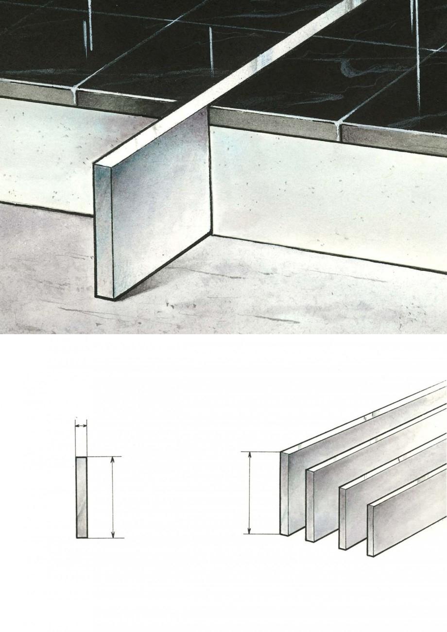 Pagina 8 - Profile de dilatatie pentru finisaje pardoseala VEDA Control joints and tile dividers...