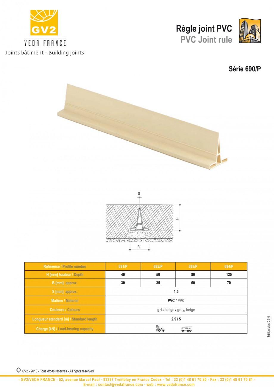 Pagina 14 - Profile de dilatatie pentru finisaje pardoseala VEDA Control joints and tile dividers...