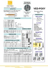 Ancore chimice pentru profile de dilatatie VEDA