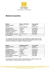 Profile de dilatatie - materiale VEDA