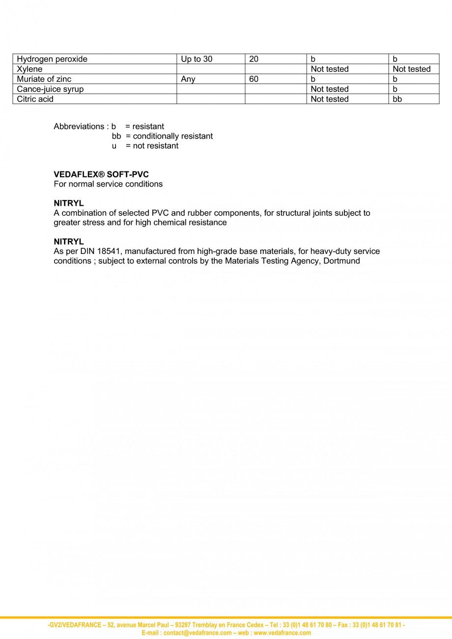 Pagina 7 - Profile de dilatatie - materiale VEDA Fisa tehnica Engleza  40 60 20 40 20 20 60 20 20 40...