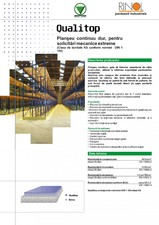 Pardoseala industriala dura pentru solicitari maxime extreme ROCLAND