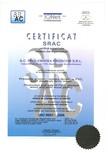 Certificat ISO Prolematex PROLEMATEX