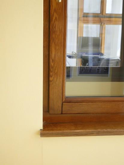10 (fereastra din lemn stratificat stejar) Ferestre din lemn