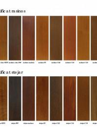 Usi de interior din lemn stratificat - nuante finisaj