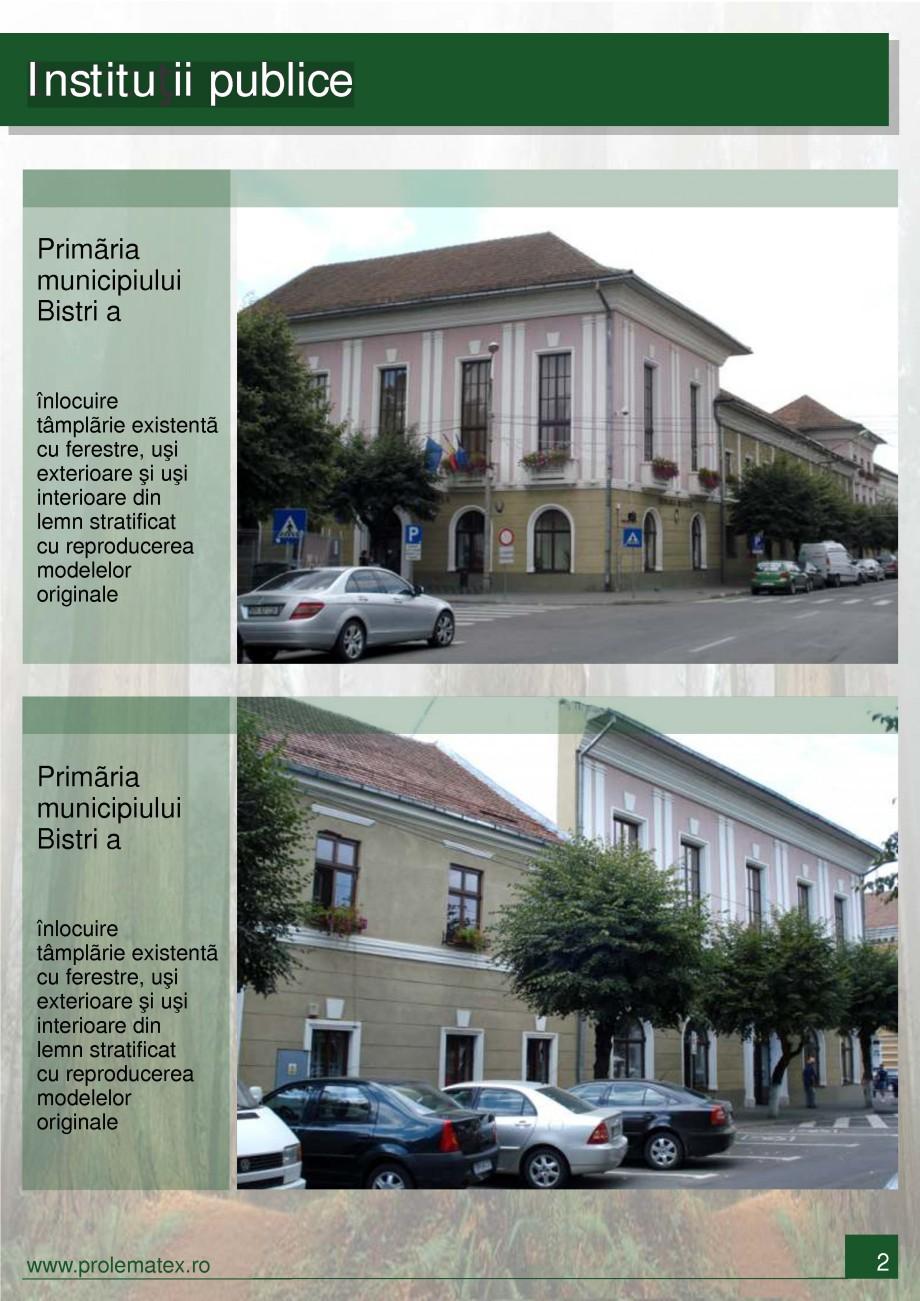 Pagina 3 - Usi de interior din lemn stratificat  PROLEMATEX Lucrari, proiecte Romana  Bistri a...