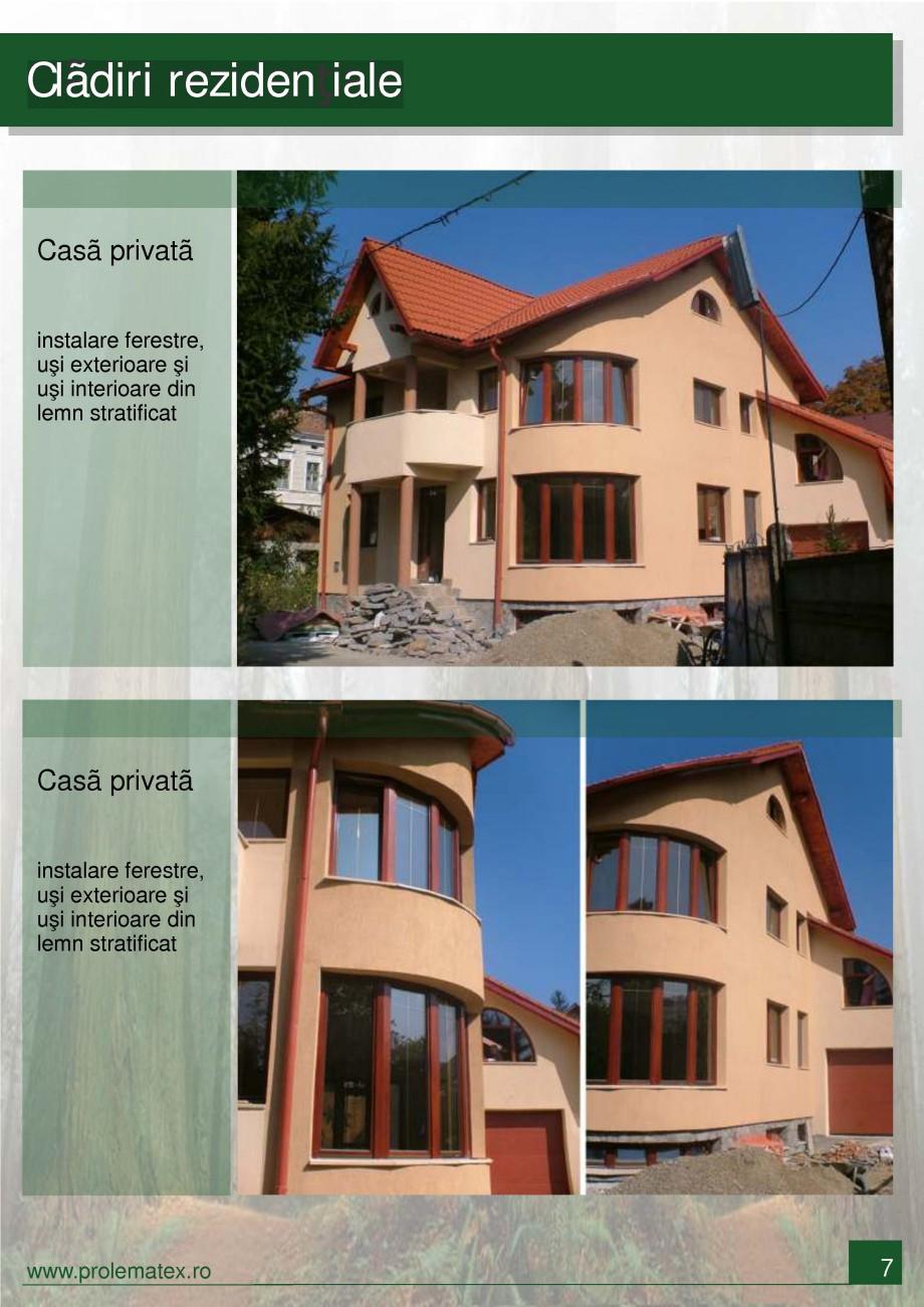 Pagina 8 - Usi de interior din lemn stratificat  PROLEMATEX Lucrari, proiecte Romana