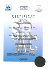 Certificat ISO PROLEMATEX