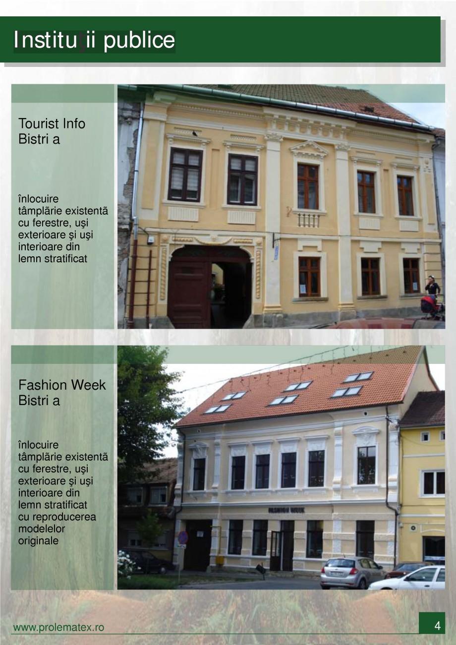 Pagina 5 - Usi de exterior din lemn stratificat  PROLEMATEX Lucrari, proiecte Romana