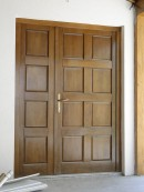 2 (usa exterioara intrare casa) | Usi de exterior din lemn stratificat  |