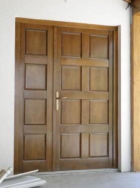 Prezentare produs Usi de exterior din lemn stratificat  PROLEMATEX - Poza 2