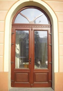 Prezentare produs Usi de exterior din lemn stratificat  PROLEMATEX - Poza 11