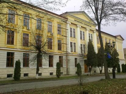16 (Universitatea 1 Decembrie 1918 Alba Iulia) Usi de exterior din lemn stratificat