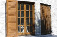 Usi de exterior din lemn stratificat  Usile exterioare din lemn stratificat Prolematex sunt recomandate atat pentru institutii sau cladiri vechi de patrimoniu, cat si pentru cladiri rezidentiale, oferind pe langa estetica deosebita si o durabilitate ridicata.