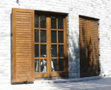 Usi de exterior din lemn stratificat  PROLEMATEX