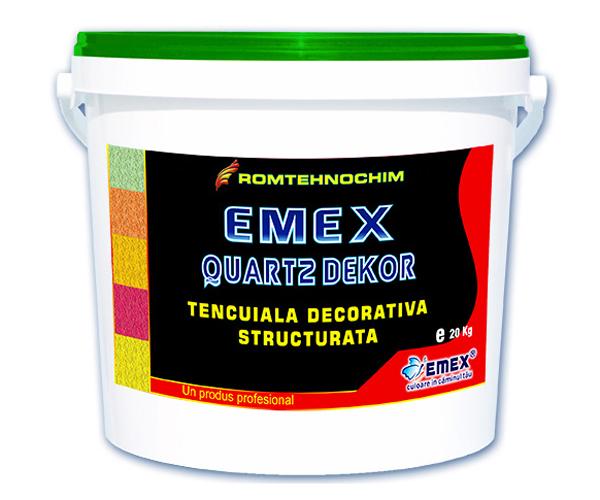 Tencuiala Decorativa Emex Quartz Dekor EMEX - Poza 1