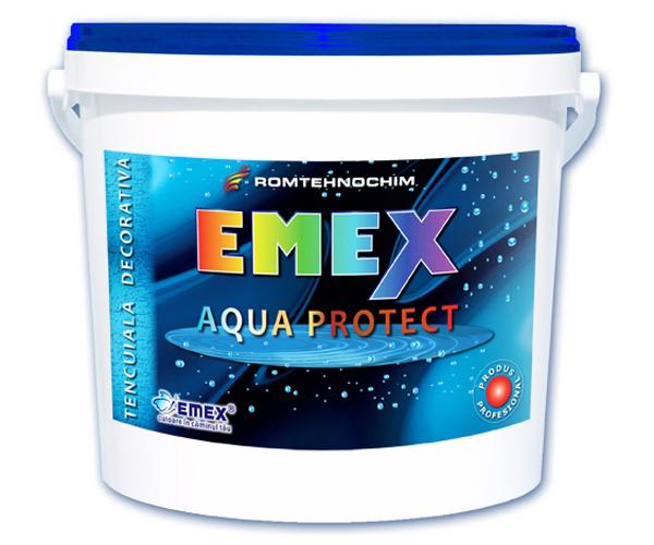 """Tencuiala Decorativa Impermeabila """"Emex Aqua Protect"""" EMEX - Poza 8"""