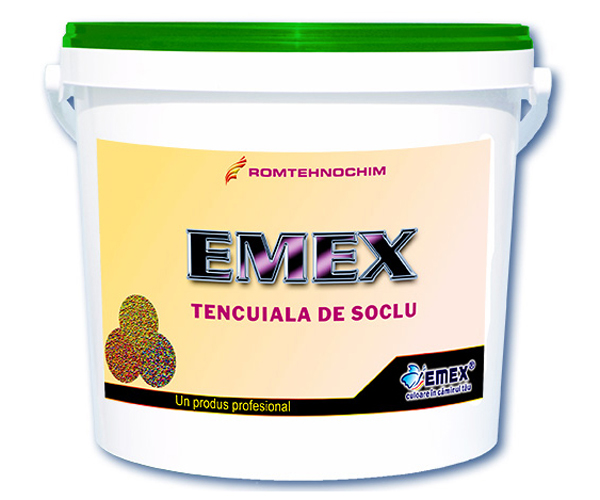 "Tencuiala Decorativa Marmorata pentru Soclu ""Emex"" EMEX - Poza 6"