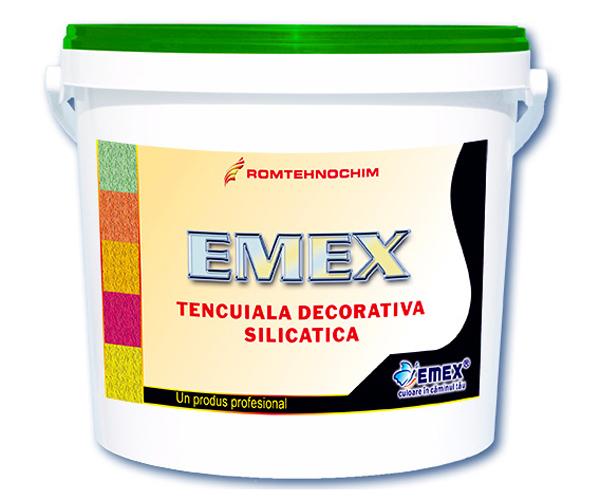 "Tencuiala Decorativa Silicatica ""Emex"" EMEX - Poza 3"