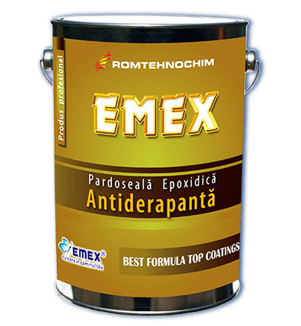 Pardoseli turnate, vopsite EMEX - Poza 8