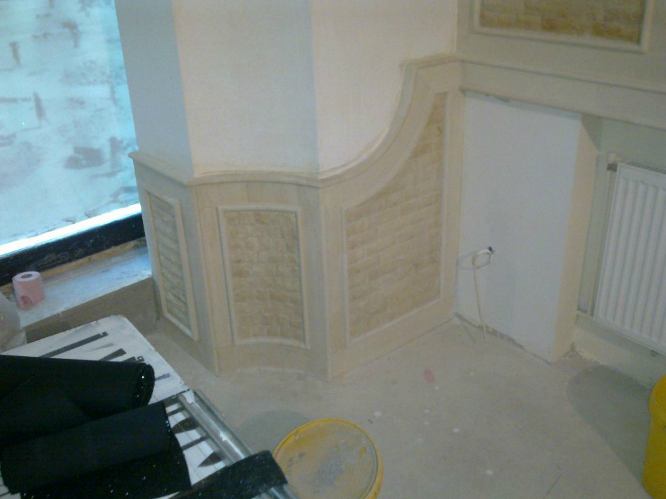 Finisaje interior din piatra naturala de Vistea LEVENTE COMPANIE - Poza 5