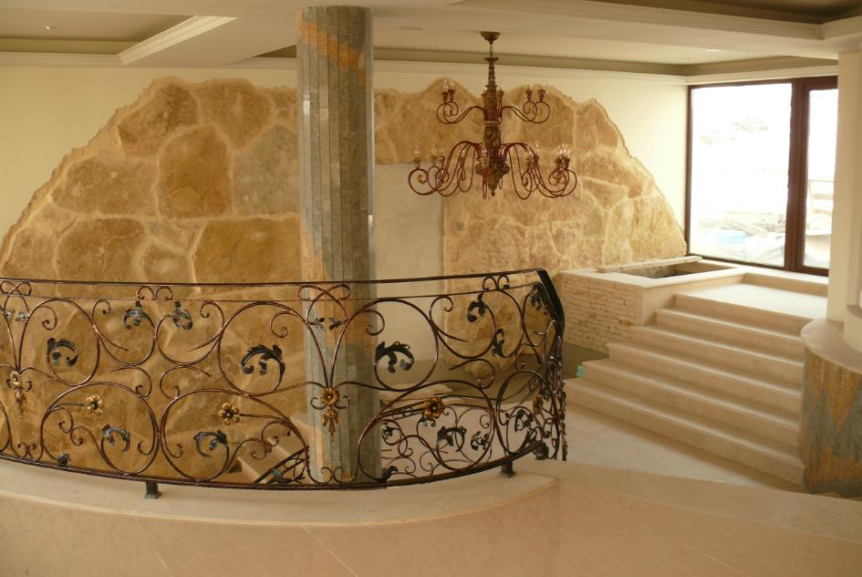 Finisaje interior din piatra naturala de Vistea LEVENTE COMPANIE - Poza 20