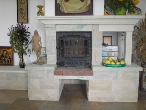 Prezentare produs Seminee din piatra naturala de Vistea LEVENTE COMPANIE - Poza 9