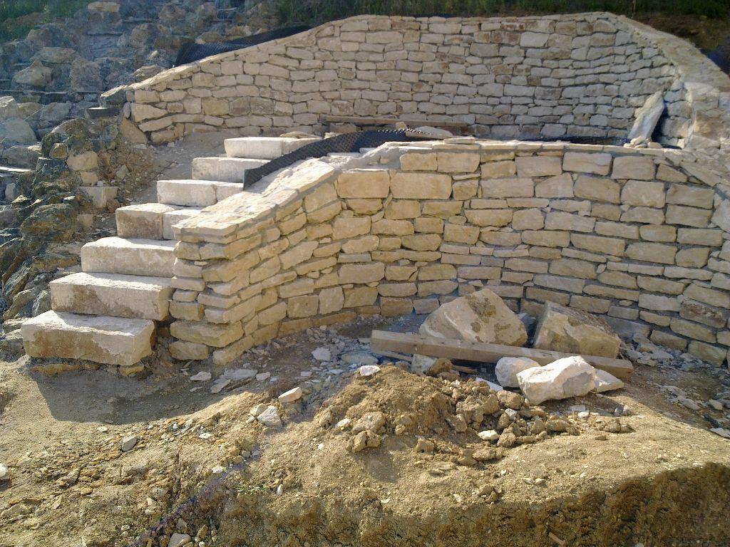 Zidarie din piatra naturala de Vistea LEVENTE COMPANIE - Poza 4