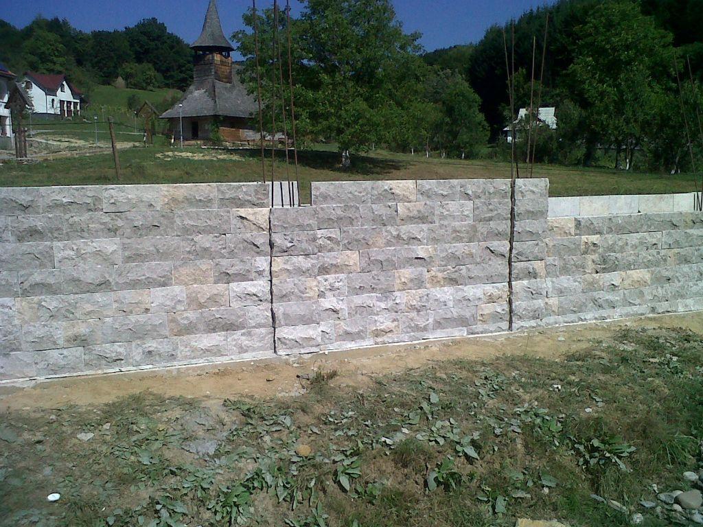 Zidarie din piatra naturala de Vistea LEVENTE COMPANIE - Poza 13