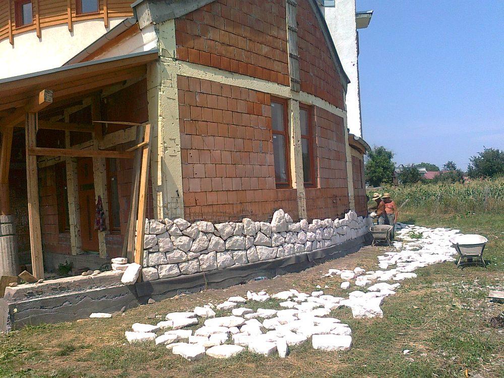 Zidarie din piatra naturala de Vistea LEVENTE COMPANIE - Poza 15