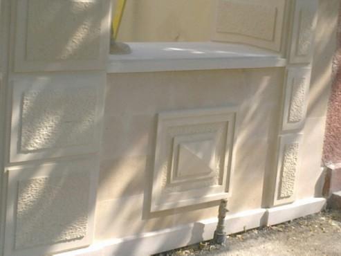 Lucrari, proiecte Socluri placate cu piatra naturala de Vistea LEVENTE COMPANIE - Poza 3