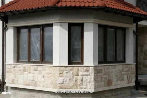 Lucrari, proiecte Socluri placate cu piatra naturala de Vistea LEVENTE COMPANIE - Poza 11