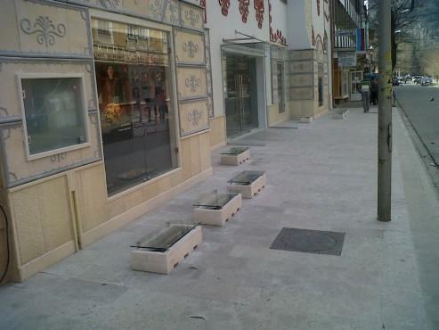 Lucrari, proiecte Socluri placate cu piatra naturala de Vistea LEVENTE COMPANIE - Poza 17