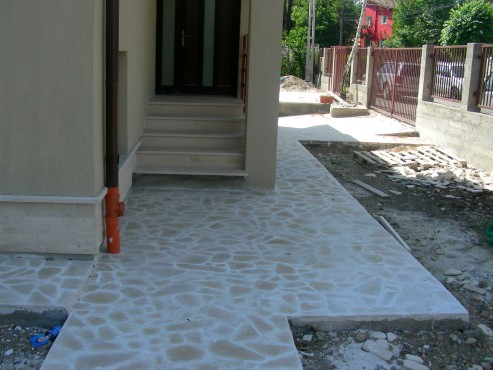 Lucrari, proiecte Socluri placate cu piatra naturala de Vistea LEVENTE COMPANIE - Poza 28