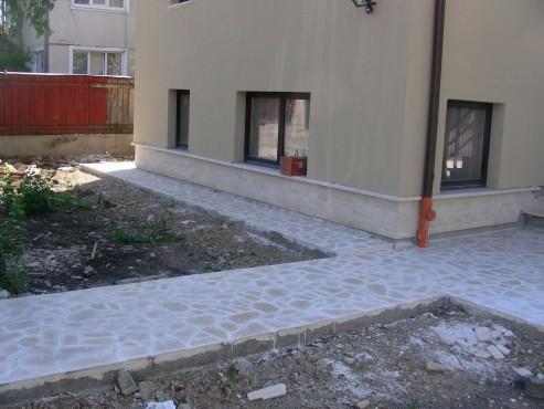 Lucrari, proiecte Socluri placate cu piatra naturala de Vistea LEVENTE COMPANIE - Poza 29