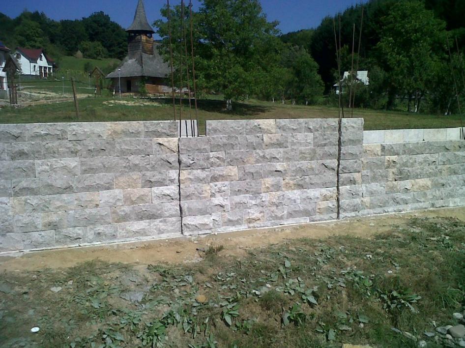 Constructii garduri din piatra naturala de Vistea LEVENTE COMPANIE - Poza 4